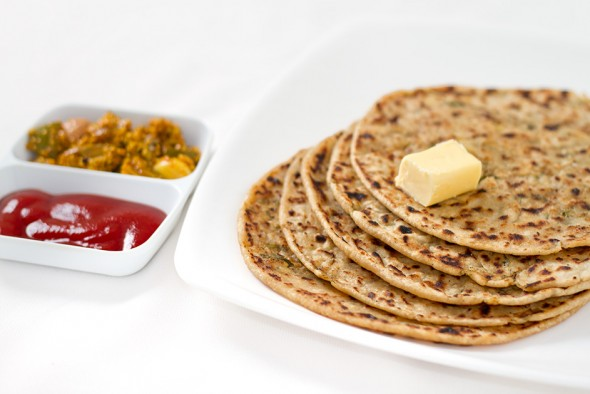 Aloo Paratha - Potato Stuffed Indian Bread | Swati's Kitchen
