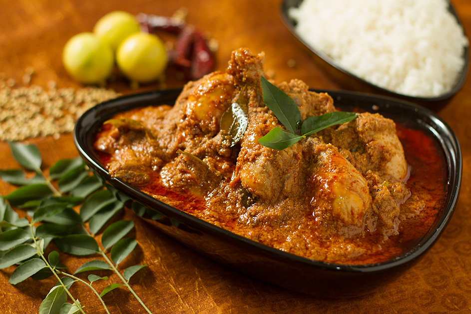 Chicken chettinad a chicken dish from tamil nadu swati for Aharam traditional cuisine of tamil nadu