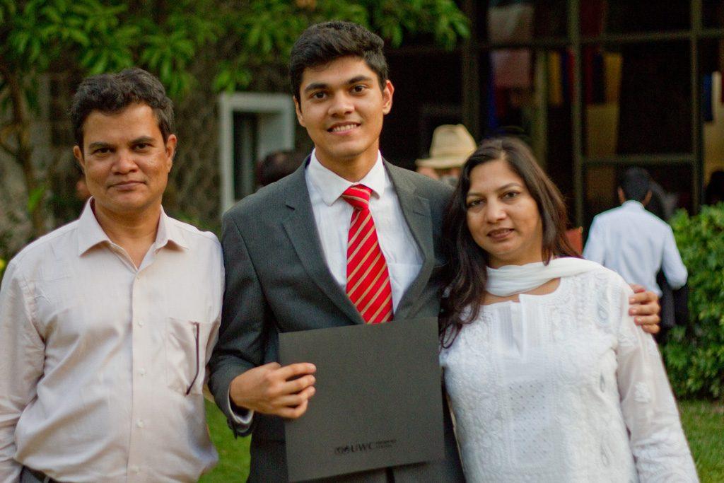 Aasim graduates from MUWCI