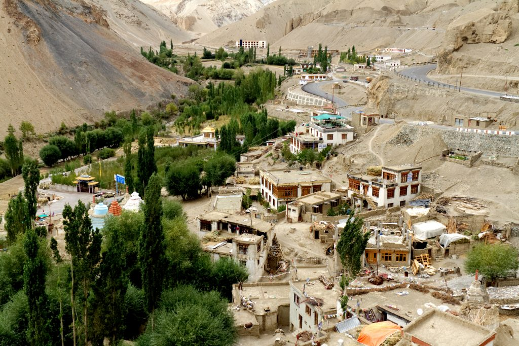 Lamayaru town