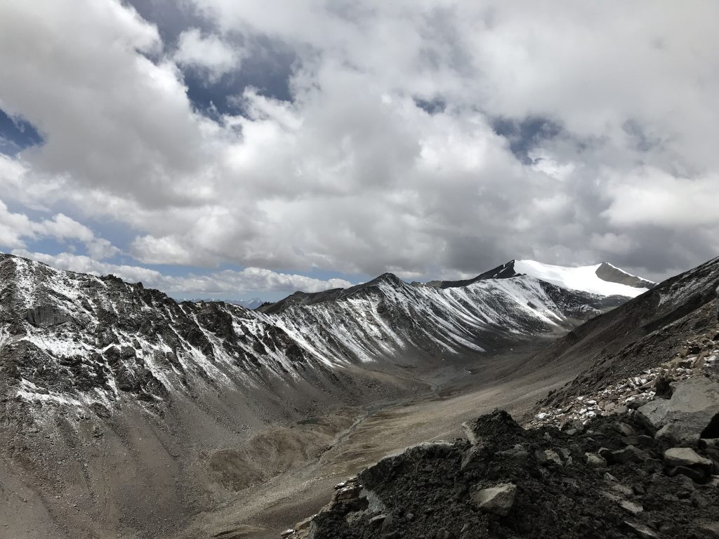Khardungla glacier that was